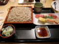 蕎麦と寿司
