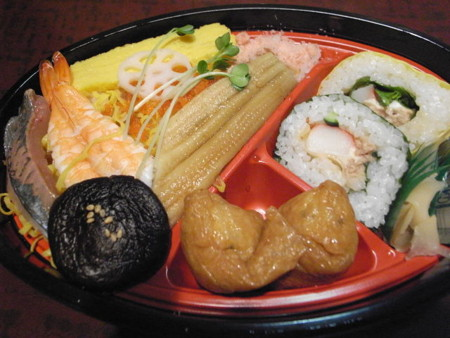 ちらしと巻寿司