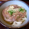 肉うどん@楽釜製麺所