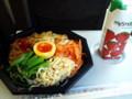 プルコギと自家製ナムルのビビンバ丼&マイスムージーストロベリー