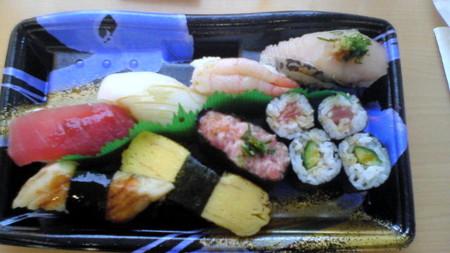 ランチ握り@魚力海鮮寿司