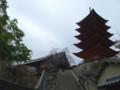 五重塔、千畳閣