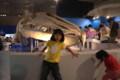 あやかちゃん&はるかちゃん&シロナガスクジラ