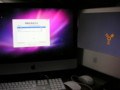 新旧iMacデータ転送中