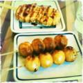 焼き団子、タコ串天