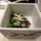 菜の花とホッキ貝の辛子和え