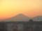 夕富士――横浜某所のビル内より