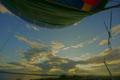 京都新聞写真コンテスト 熱気球からみる琵琶湖