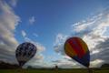 京都新聞写真コンテスト 琵琶湖熱気球体験