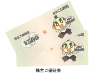 くら寿司 株主優待