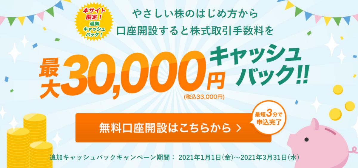 松井証券の口座開設