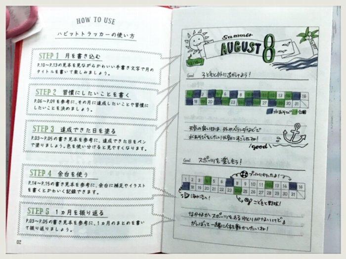 2019-05-30文房具ハビットトラッカー2