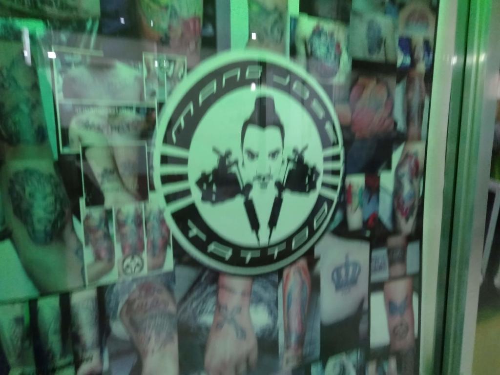 お店のロゴの写真