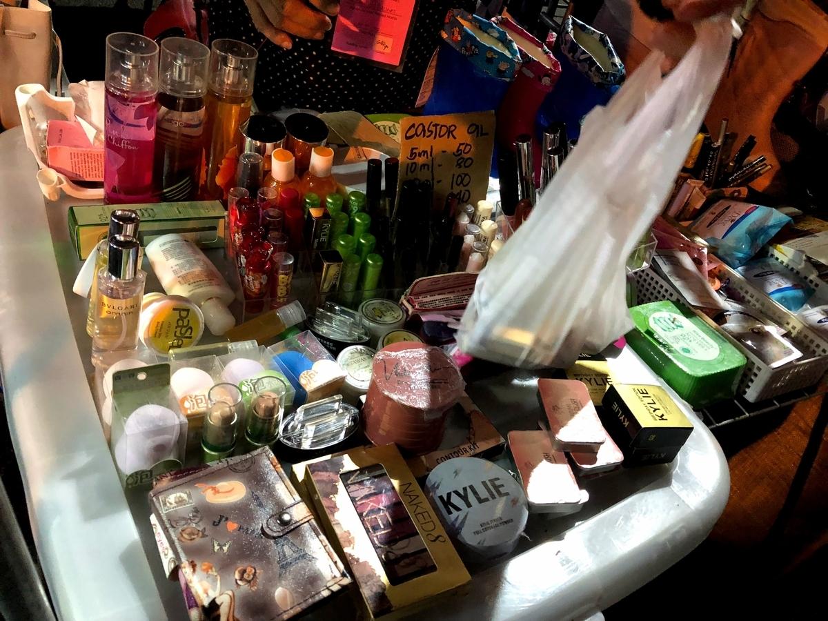 化粧品売り場の写真1
