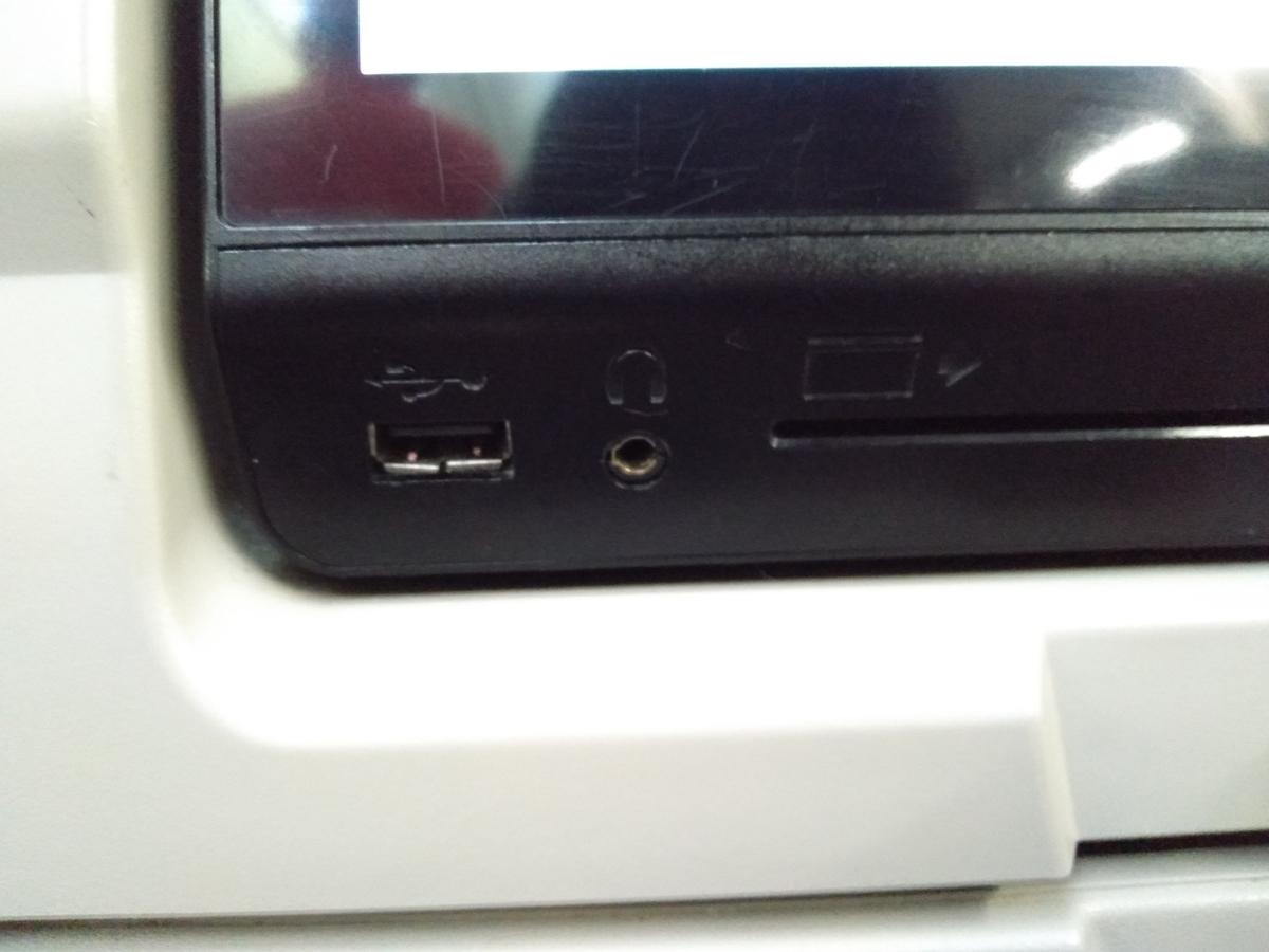 USBポートの写真