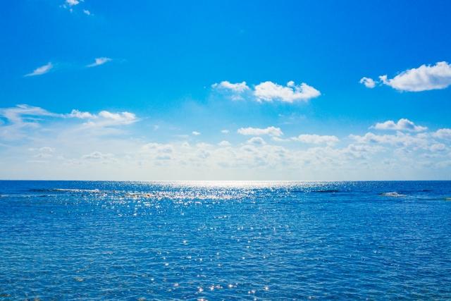 きれいな海の写真