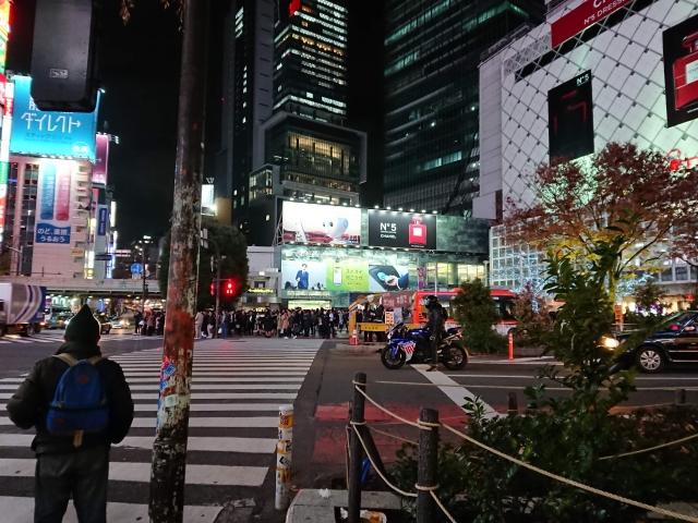 渋谷駅からヒカリエ