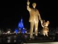 [ディズニー]ミッキーとディズニーの創設者とシンデレラ城