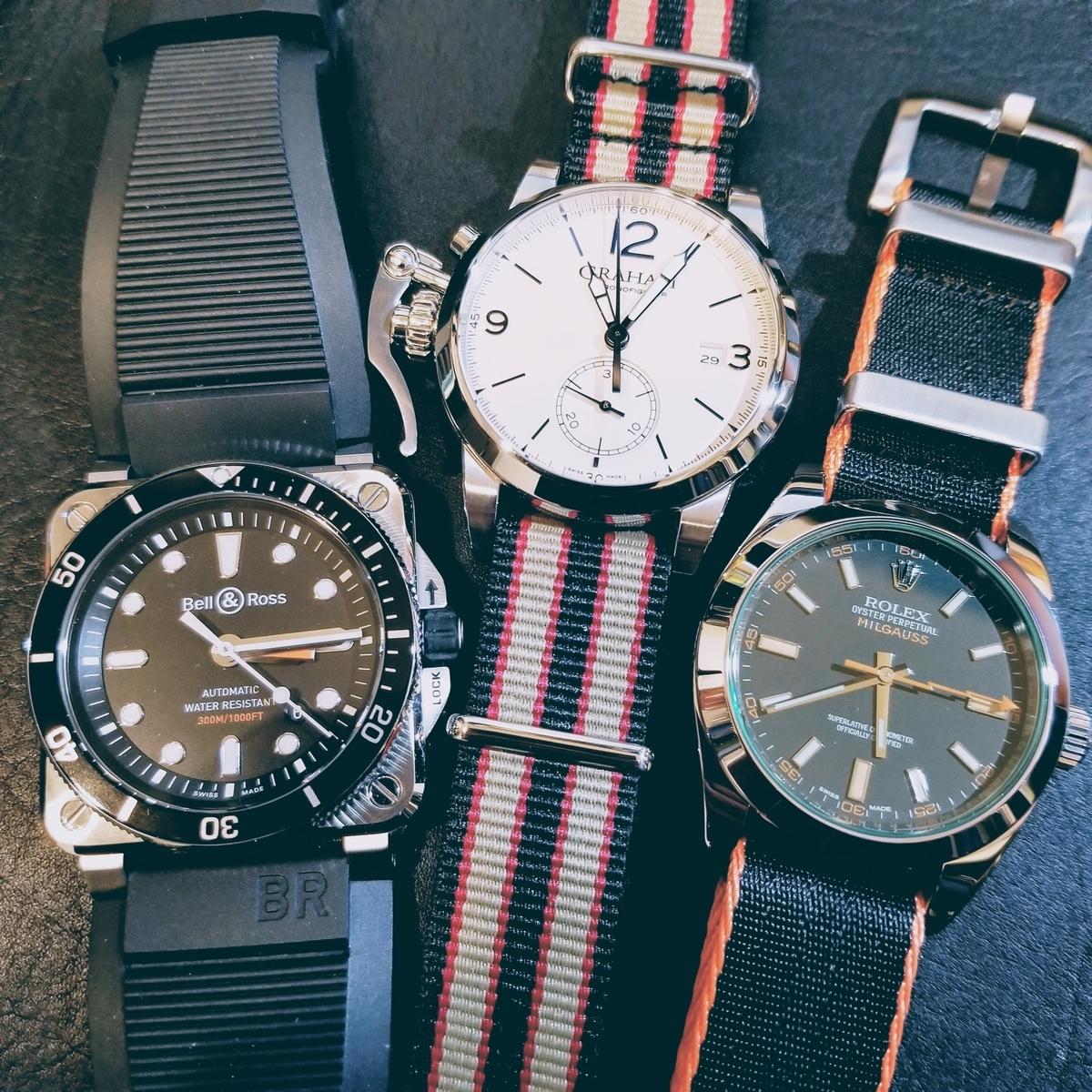 個性的な腕時計たち