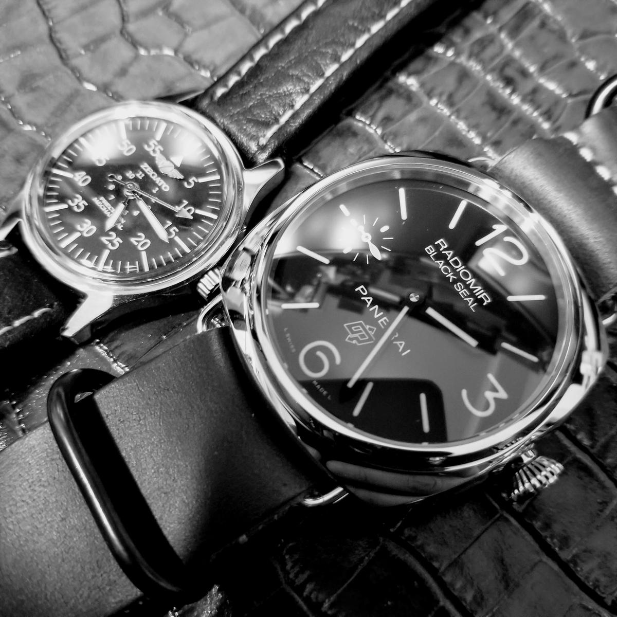 大きな時計と小さな時計