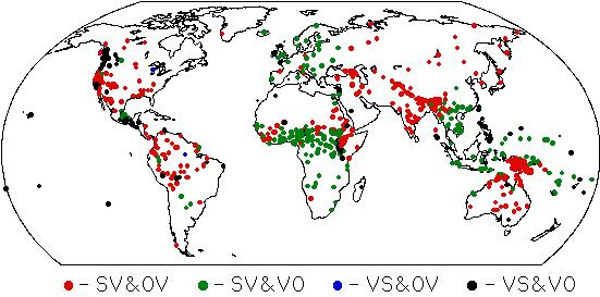 世界の語順