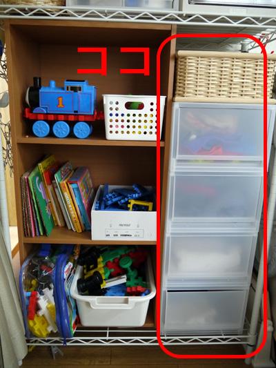 保育園の子ども服収納を無印収納ケースで改善しました