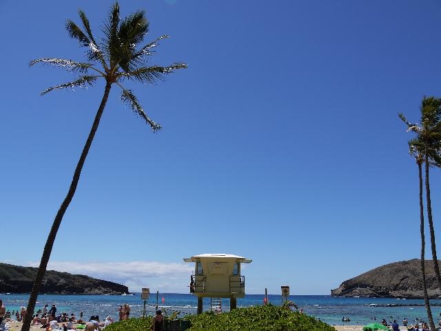 ゆるい生き方 ハワイの光景
