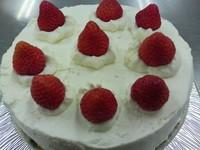 守屋クッキングスクール 苺のショートケーキ