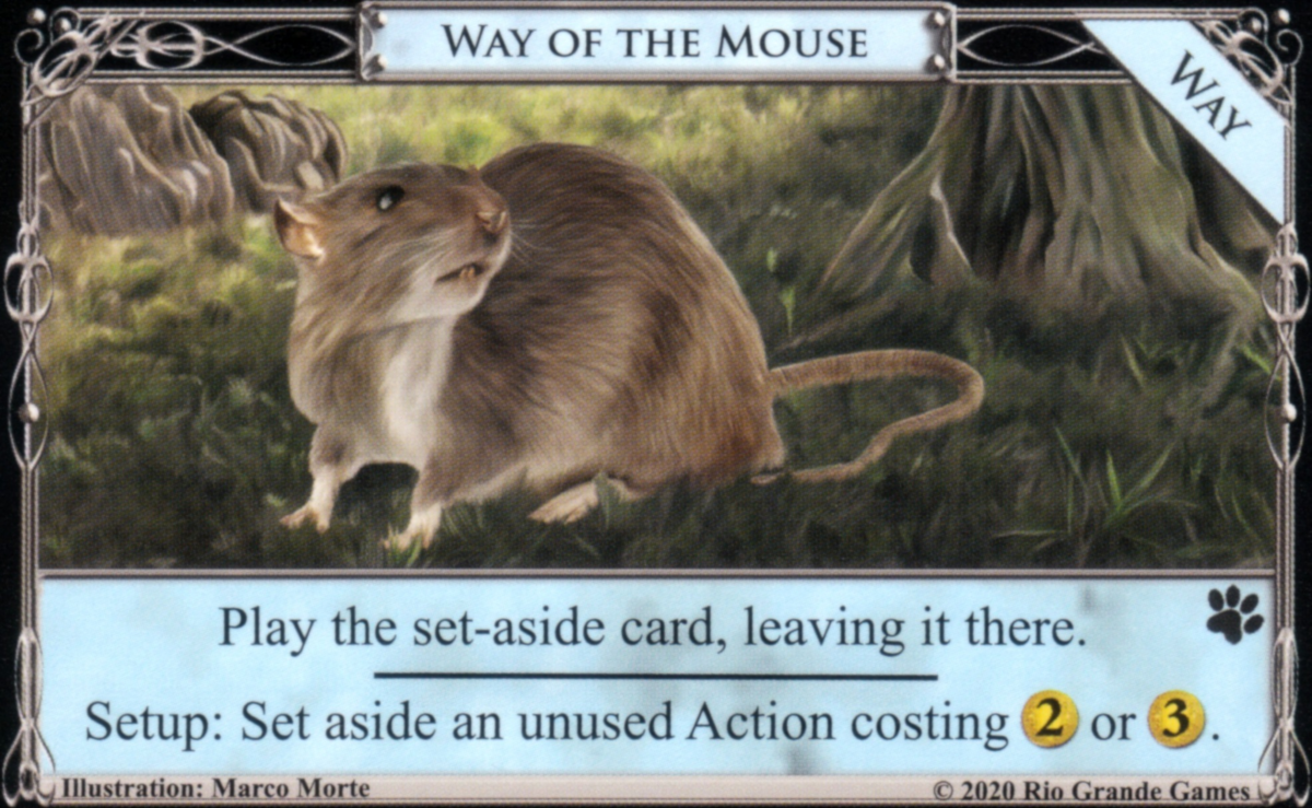 """Way of the Mouse""/「ハツカネズミの習性」"