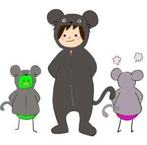 ネズミの着ぐるみすんこで検索