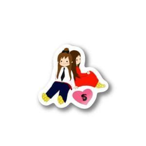 【SUZURI】すんこフレンド ステッカー