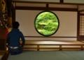 京都新聞写真コンテスト 瞑想に耽る