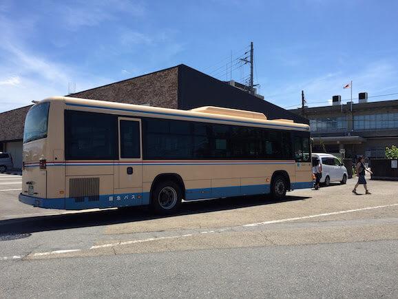 京都府運転免許試験場前の阪急バス