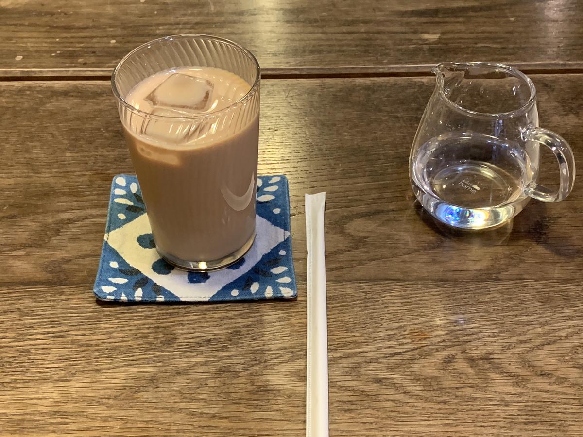 ラトナカフェのチャイ