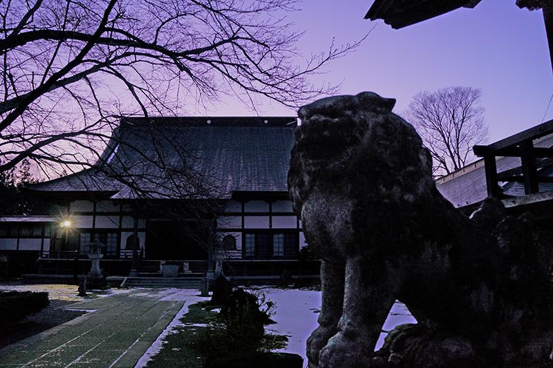 常堅寺とかっぱ狛犬