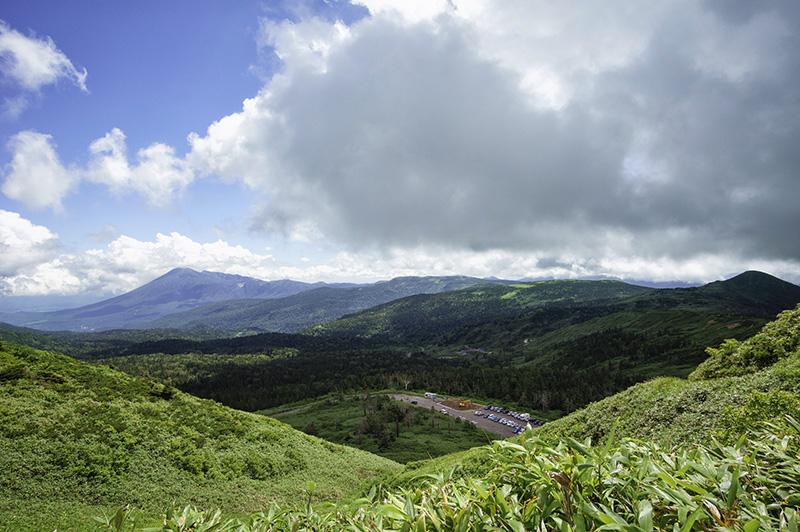 八幡平から岩手山