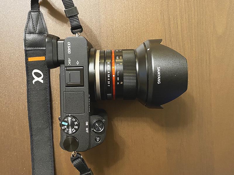 α6400+SAMYANG 12 mm