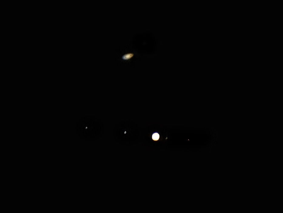 木星と土星の最接近