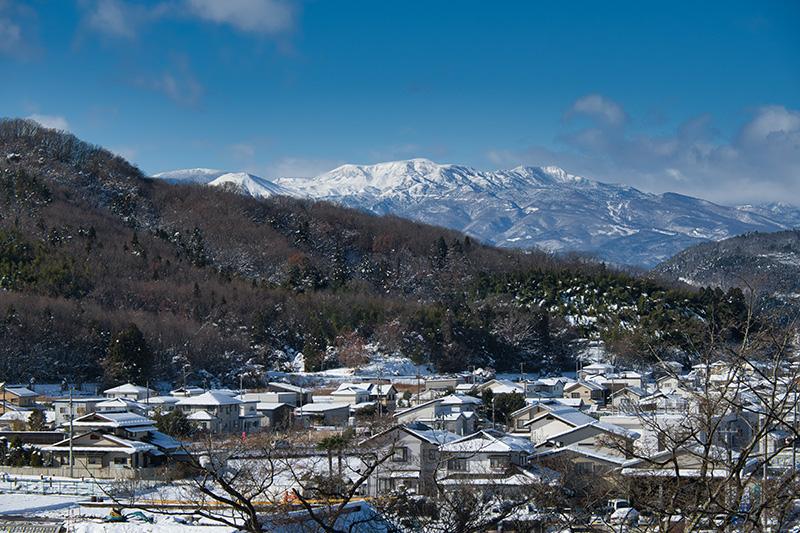 雪の吾妻連峰