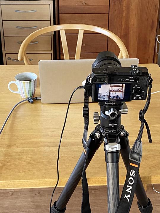 Macとカメラの接続