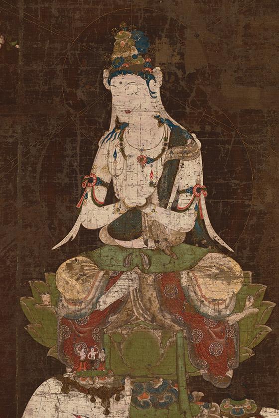 国立博物館「普賢菩薩」