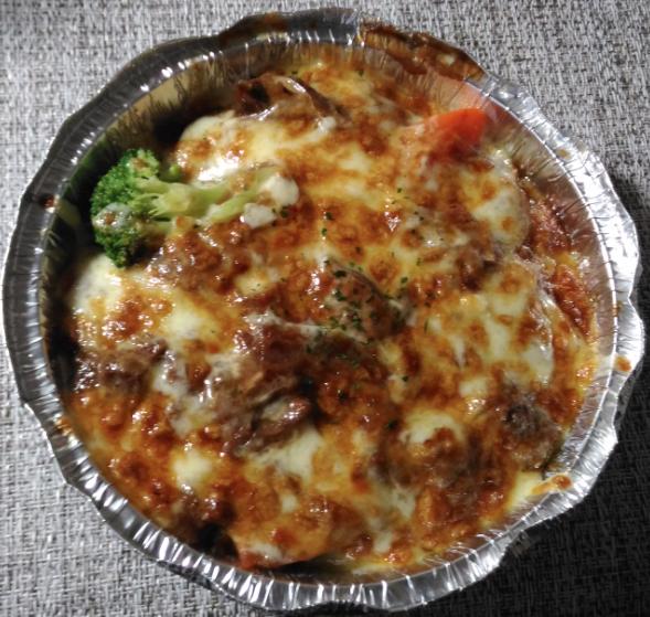 統一時代百貨のGUGU廚房義式料理のビーフドリア