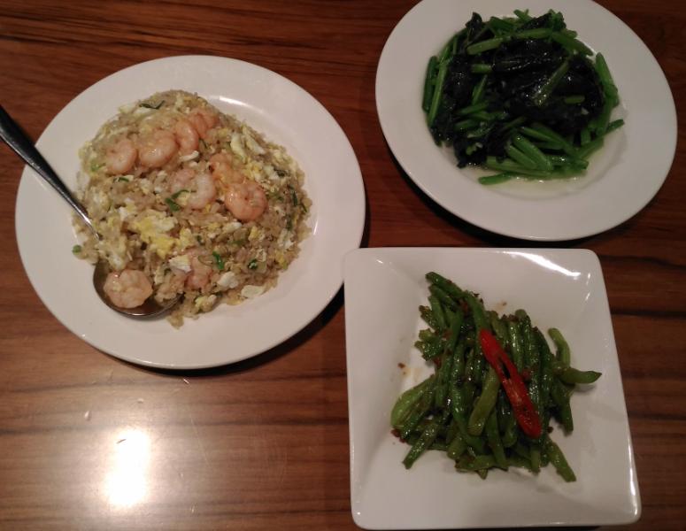 鼎泰豐(ディンタイフォン)のエビ炒飯
