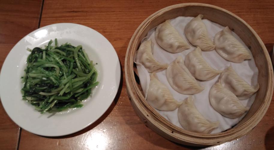 鼎泰豊(ディンタイフォン)の101店のえび蒸し餃子