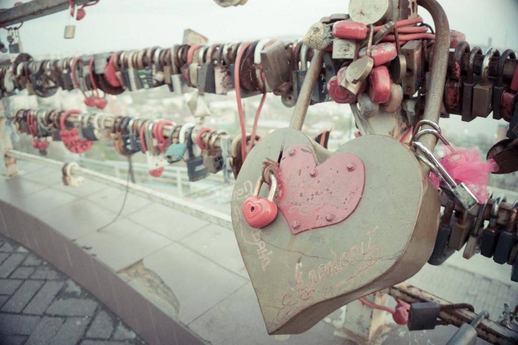 愛と南京錠