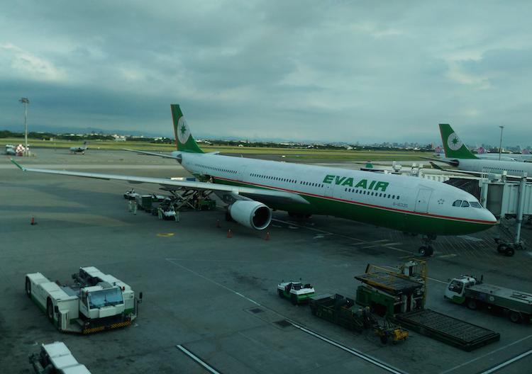 エバー航空のエアバスA330-300型機