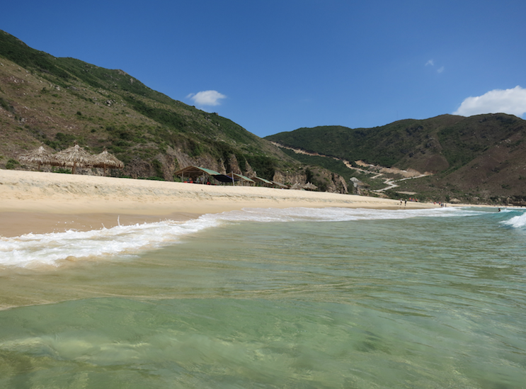 Ky Co beach in Quy Nhon, Vietnam