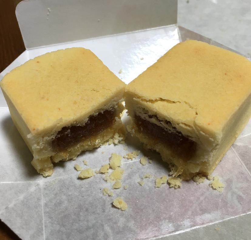 「オークラプレステージ台北(大倉久和大飯店)」のパイナップルケーキ