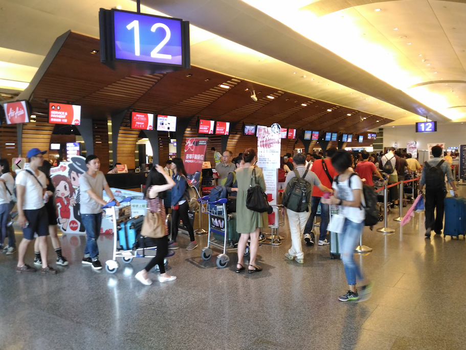 台湾桃園国際空港の第一ターミナル
