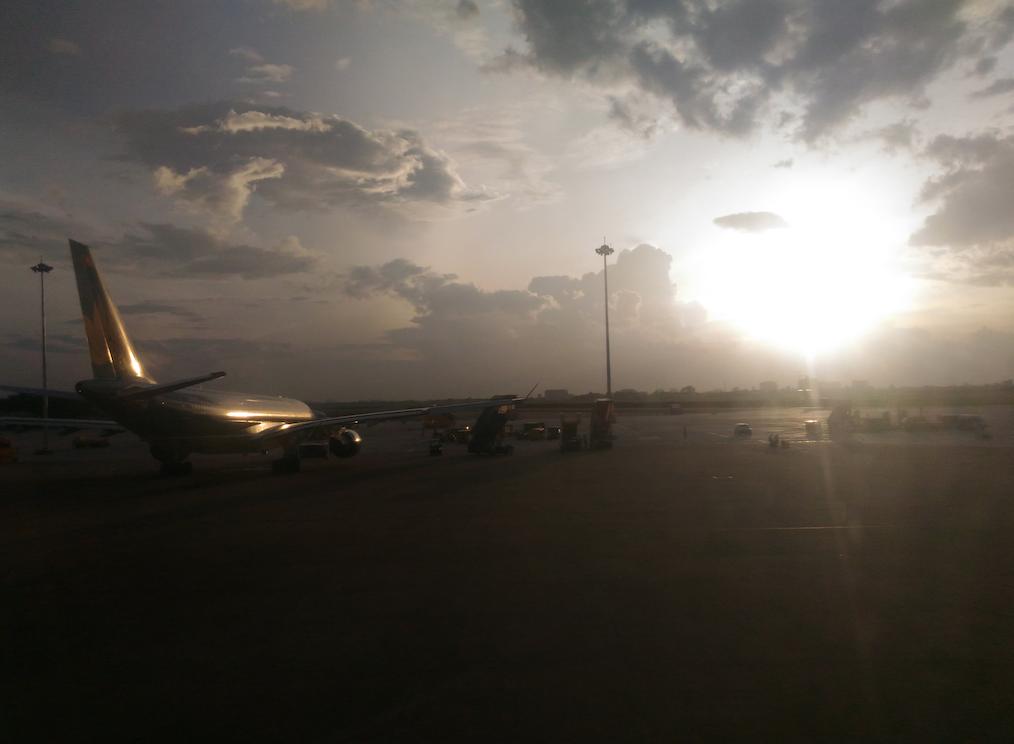 ベトナム航空の飛行機